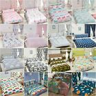 KIDS DOUBLE DUVET COVER SETS DINOSAUR ARMY BIRDS UNICORN BOYS GIRLS BEDDING