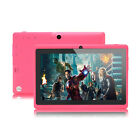 "iRULU Multi-Color 7"" Google GMS Android 6.0 Quad Core Dual Cameras 8GB Tablet PC"