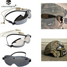 Tactical Military Motorcycle Windproof BOOGIE Regulator Goggle Glasses Emerson