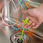 Home Kitchen Bathroom Sink Hook Drain Sewer Dredge Chain Cleaning Tools Device