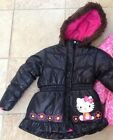 Hello Kitty Girls Coat - Black Size 4 NWT MSRP $75
