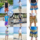 Board Casual Easy Man Quick-Dry  BeachShorts Blue Light Colors Pants Fashion
