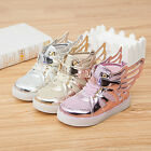 Kid Unisex Shoes With light Fashion Glowing sneakers shoes wings light up ShoesB