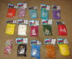 RAINBOW LOOM Latex-Free Color Bands/Bracelet-Choose Jelly, Glow,Opaque,Medieval