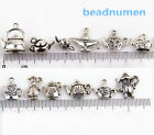 Lot 12Pcs Mixed Antique Silver Charms Teapot Wine Pot Flask For DIY Making