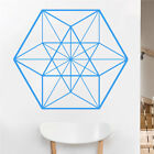 Eyval Decal Cuboctahedron Sacred Geometry Vinyl Wall Decal