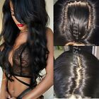 Real Natural Brazilian Virgin Human Hair Lace Front/Full Lace Wigs Black Women h