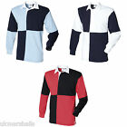 FRONT ROW QUARTERED RUGBY SHIRT S-XXL FR2