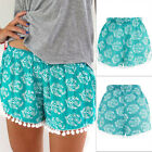 Women Lady's Casual Shorts Mid Waist Summer Short Beach Hot Pants Sexy