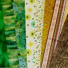"Fat Quarters - 22"" X 20"" ***GREEN'S*** ONLY £1.00 ea. Quilting Crafts"