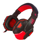 Surround Stereo Wired Gaming Headset Headband Headphone USB 3.5mm LED with Mic