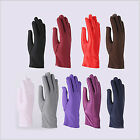 Ladies Stretch Spandex Short Gloves For Party Wedding Driving Prom Show Jewelry