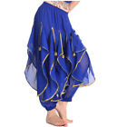 Belly Dance Tribal Costume Shinny Sequin Balloon Bloomers Trousers