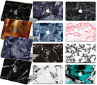 "Marble Rubberized Cut-Out Hard Case Cover For Macbook PRO 13"" 15"" w/no TOUCH BAR"