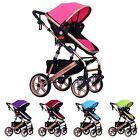 Newly Baby Stroller Bi-Direction Infant Pushchair Travel Security Pram Carriage