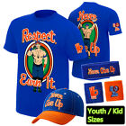 John Cena Respect Earn It Never Give Up Boy Youth Kid Child T-Shirt Gift Set