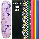 "GIRL Skateboard Deck BIEBEL PARTY GIRLS 7.875"" with GRIPTAPE"