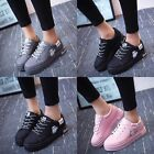 New Women 's Fashion Leather Shoes Breathable Casual Sneakers Running Shoes
