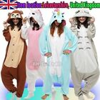 Unisex Birthday Party Custume Cosplay Adult Animal Onesie Pajamas Sleepwear New