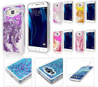 Samsung J1 2016 EXPRESS 3 / Luna S120 GLITTER Liquid Hard Case + Tempered Glass