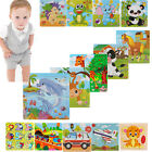 Wooden Animals Car Plane Puzzle Jigsaw Early Learning Baby K