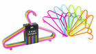Kids Children's Hangers Clothes 48/96/120 Plastic Coat Baby Hanger Multi Colour