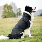 Pet Dog Puppy Cat Rain Coat Clothes Waterproof Jacket Rainwear Hooded Reflective