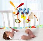 Plush newborn baby bed hanging soft doll Rattles Mobiles Toy DOG mirror Teether