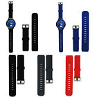 20mm Sport Silicone Rubber Watchband Strap Steel Buckle Pins For Huawei Watch