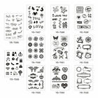DIY Transparent Silicone Rubber Stamp Sheet Cling Scrapbooking Photo Crafts 1pcs