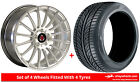 Alloy Wheels & Tyres 18'' Axe EX23 For Skoda Superb [Mk3] 15-16