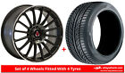 Alloy Wheels & Tyres 18'' Axe EX23 For Toyota Verso 09-16