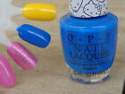 OPI Nail Polish My Pal Joey NL H90 Shiny Bright Medium Blue! Hello Kitty! New!