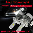 H7 H4 H11 H3 110W 20000LM LED Headlight Kit Car Beam Bulb Driving Lamp 6000K HOT