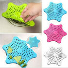 Silicone Bath Sink Strainer Waste Plug Floor Drain Filter Hair Catcher Stopper