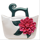 Womens Big Flower Handbags Casual Fashion Shoulder Wing Bags Ethnic Style 8Color