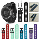 Classic Replacement Soft Silicone Wristband Band Strap For Garmin Fenix 3 / HR