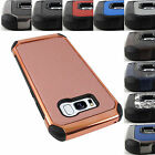 SAMSUNG GALAXY S8/S8+ IMPACT SHIELD RUGGED HYBRID CASE SHOCKPROOF COVER+STYLUS