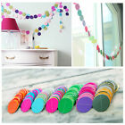 2M X Paper Garland Banner Bunting Drop for Party Baby Shower Wedding - 5Color TU