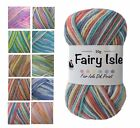 Cygnet Fairy Isle DK Wool Yarn For Babies For Knitting or Crochet - 10 Shades