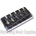 Quality 5 string Bass guitar bridge BB405 Black, Gold, or Chrome by Sung Il five