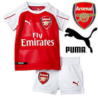 PUMA Arsenal Boys Home Kit 2015/16 Babies Kids English Football Strip