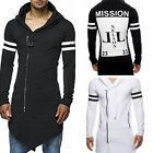 Men's hooded coat Male Long-sleeve T-shirt  Printed hooded T-shirt LAUS