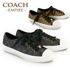NWB Coach Coach Empire Women's Signature Tennis Sneakers Sizes 5 - 11 MSRP $110