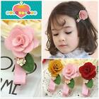 3 Colors Headwear Cute Flower Hairpin Hair Clip Accessories Baby Girl Child Gift