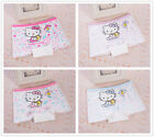 4 Pcs Packed Cat W Cotton Children Girl's Briefs Panties Underpants 4-10 Years