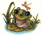 Frog Lily Pad Dragonfly Select-A-Size Waterslide Ceramic Decals Xx  image