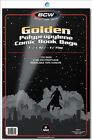 BCW: Comic Bags: GOLDEN or GOLDEN-THICK Size:  100 count   *FREE SHIPPING in USA