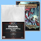 BCW: Book Bags: HARDCOVER Size: 1000ct (10 packs) 2-mil Poly CASE-LOT