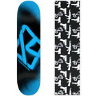 Krooked Skateboard Deck Spray Blue 8.5 With Griptape